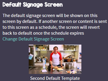 How to Schedule Signage Content